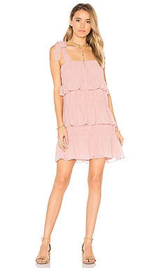 x REVOLVE Gloria Dress in Ballet Beige
