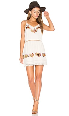 London Slip Dress in Creme