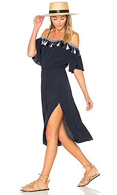 Fiesta Dress in Navy