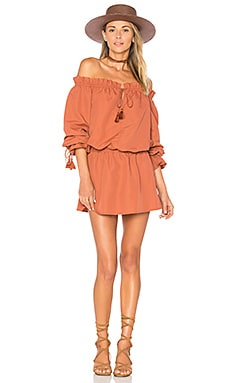 x REVOLVE Falon Dress in Terracotta