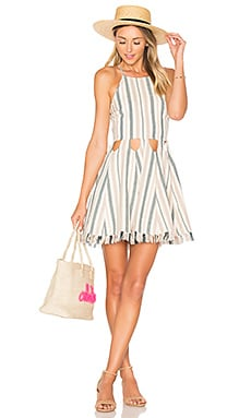 Helix Dress in La Rochelle Stripe