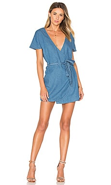 Didion Dress in Dark Denim