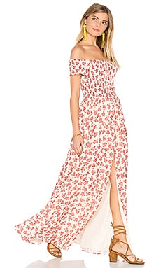 Henderson Maxi Dress in Floral Paisley