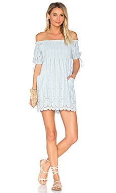 x REVOLVE Quinn Dress in Baby Blue