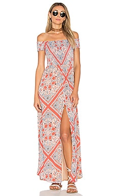 Henderson Maxi Dress in Bandana Scarf