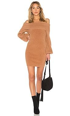 Купить Платье свитер gramercy - Tularosa, Мини, Китай, Цвет загара
