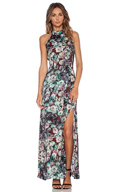 Tularosa x REVOLVE Brooke Maxi Dress in Midnight Floral