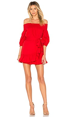 Maida Ruffle Dress Tularosa $158