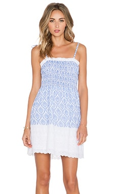 Tularosa Felicity Babydoll Dress in Blue