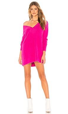 Купить Платье свитер jess - Tularosa розового цвета