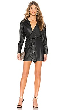 Tamera Faux Leather Dress Tularosa $104