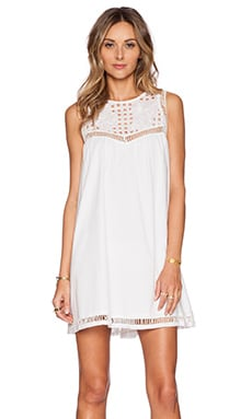 Tularosa Indio Dress in White