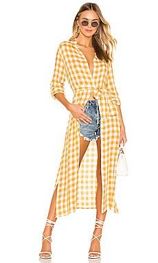 Thea Shirt Dress Tularosa $188 NEW ARRIVAL