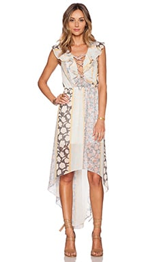 Tularosa Nashville Dress in Floral Stripe
