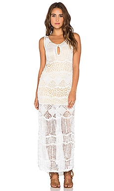 Tularosa Festival Dress in White