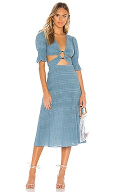 Nanette Midi Dress Tularosa $248