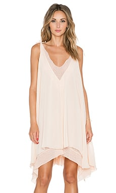 Tularosa Veda Dress in Peach Parfait