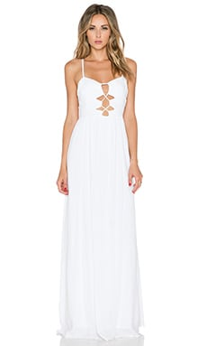 Tularosa Eloisa Maxi Dress in White
