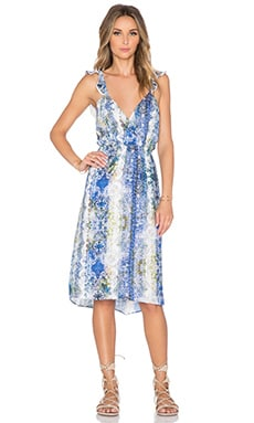 Tularosa Willa Dress in Blue Multi