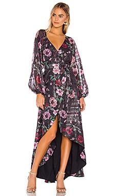 Cora Wrap Dress Tularosa $138