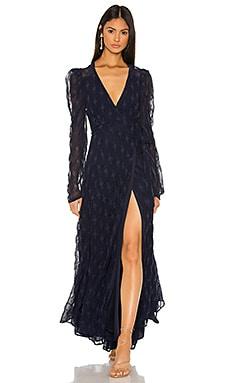 Kylo Wrap Dress Tularosa $248 NEW ARRIVAL