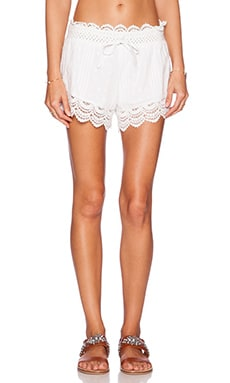 Tularosa Nora Shorts in White