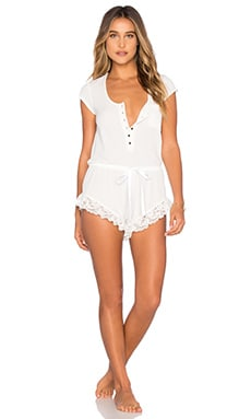 Tularosa Not That Innocent Romper in White