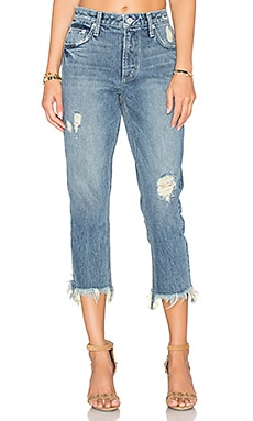 x REVOLVE Hailey Straight Leg Jean in Marbella