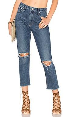 Tularosa Hailey Straight Leg Jean in Camaroon