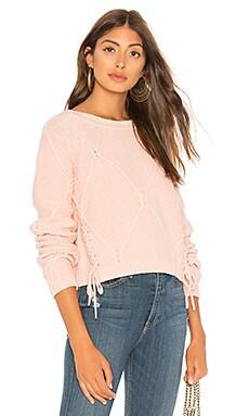 Фото - Пуловер pam - Tularosa розового цвета