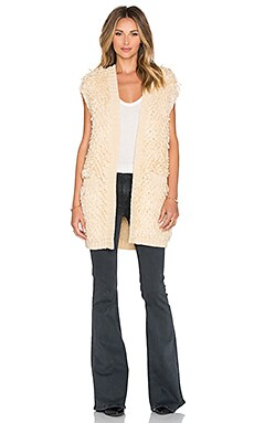 Tularosa Agnes Knit Coat in Dust