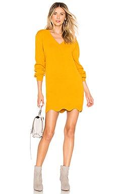 Купить Пуловер с v-образным вырезом delia - Tularosa желтого цвета