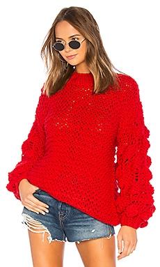 Купить Свитер - Tularosa красного цвета