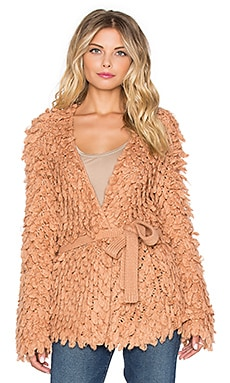 Drew Jacket in Pale Blush