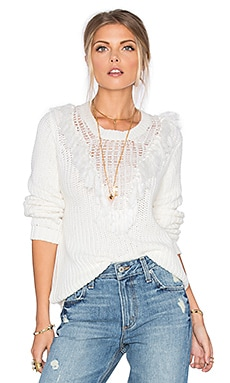 Tularosa Milo Sweater in White