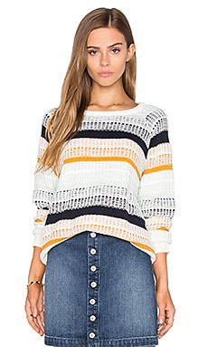 Tularosa Cheyenne Knit Pullover in Mixed Stripe