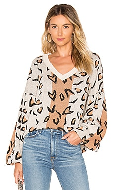 Leopard Sweater Tularosa $158 BEST SELLER