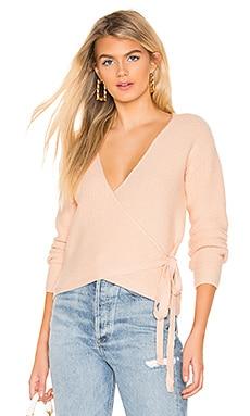 Destiny Wrap Sweater Tularosa $95