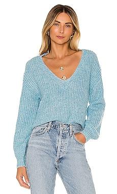 Frances V Neck Sweater Tularosa $87