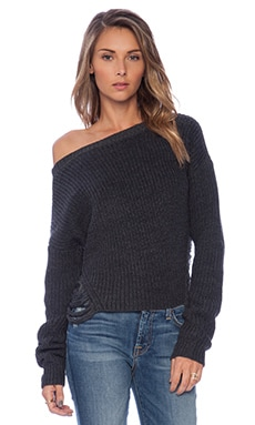Tularosa Ana Sweater in Marled Heather Charcoal