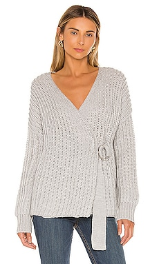 Helen Wrap Sweater Tularosa $49