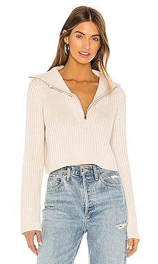 Lovelle Zip Up Sweater Tularosa $165 BEST SELLER