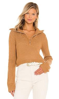 Lovelle Zip Up Sweater Tularosa $124