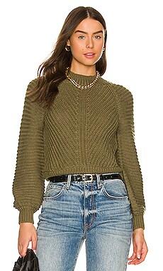 Amina Contrast Rib Sweater Tularosa $188