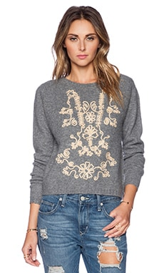 Tularosa Margo Sweater in Ice Blue