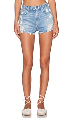 Tularosa Emma High-Rise Short in Santorini