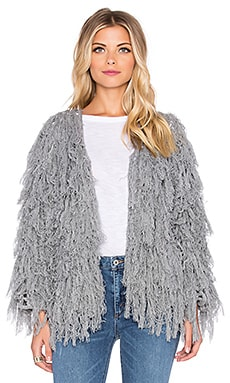Tularosa Bardot Jacket in Heather Knit