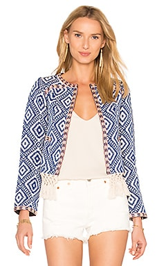 Santa Fe Fringe Jacket in Diamondback