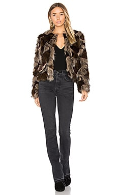 Harkin Faux Fur Coat