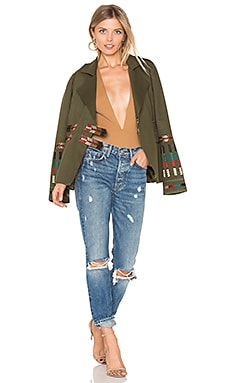 x REVOLVE Claude Jacket in Army Green